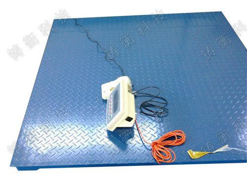 3T带打印电子地秤 打印称票单地秤厂家